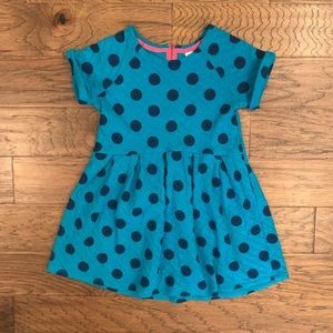Cat & Jack girls polka dot dress size large 10/12